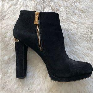 Michael Kors Black Ankle Boots